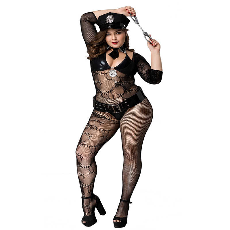 Military Costume Porn - Plus Size Porn Women Sexy Police Costume Black Polyester Leather Military  Uniform Hot Erotic Clubwear Costumes For Ladies Babydolls & Chemises  -  AliExpress