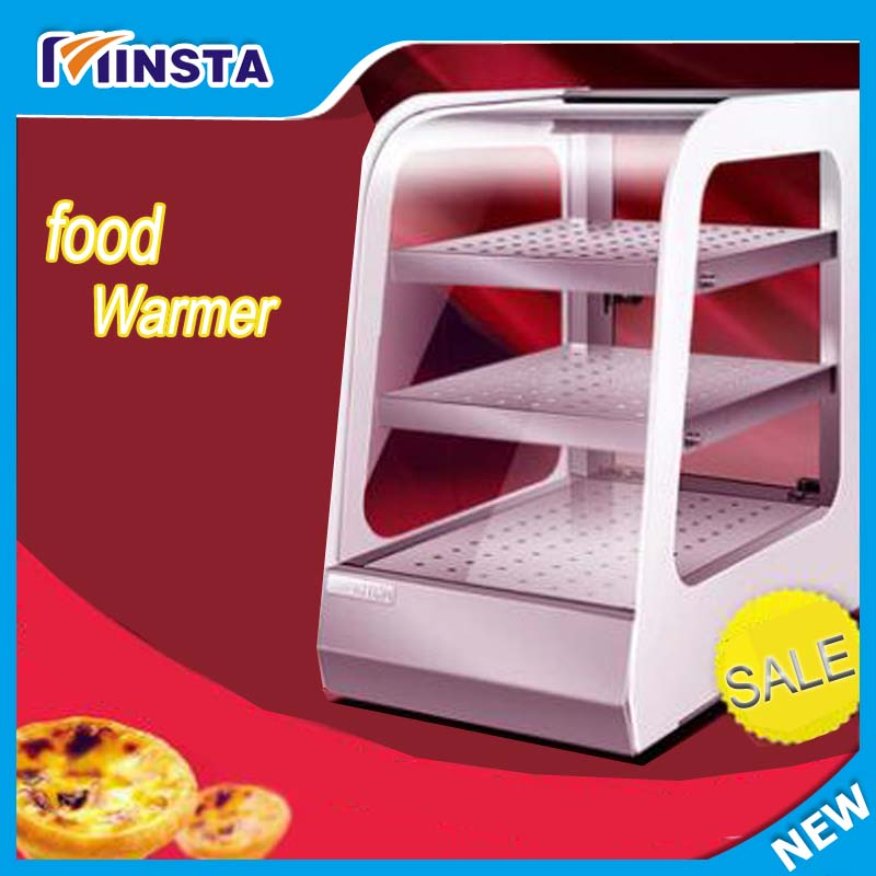 Pie warmer food warmer warming showcase display cabinet pizza warmer churro display warmer deluxe stainless steel churro showcase machine with heat food warmer and oil filter tray