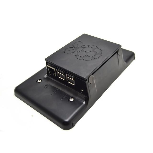 Raspberry Pi 7-Cal ekran dotykowy LCD czarny dla Raspberry Pi 3b/3b +, tylko obudowa nie zawiera ekranu