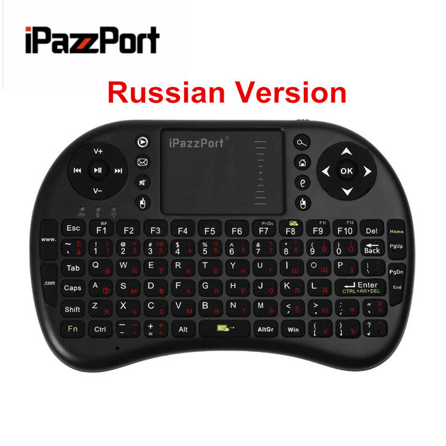 iPazzPort KP21 Universal 2.4GHz Mini Wireless Touchpad And Keyboard Combo For Desktop Laptop Multimedia Russian Version