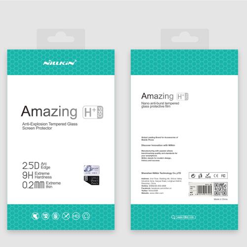 Para iphone 7 templado original nillkin increíble h + pro anti-explosión de cristal templado de cine para iphone 7