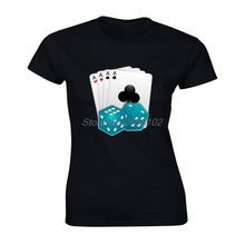 Latest Designs Roll The Dice Game T Shirt womens High Quality 100 Cotton Clothes Sweatshirt Playing
