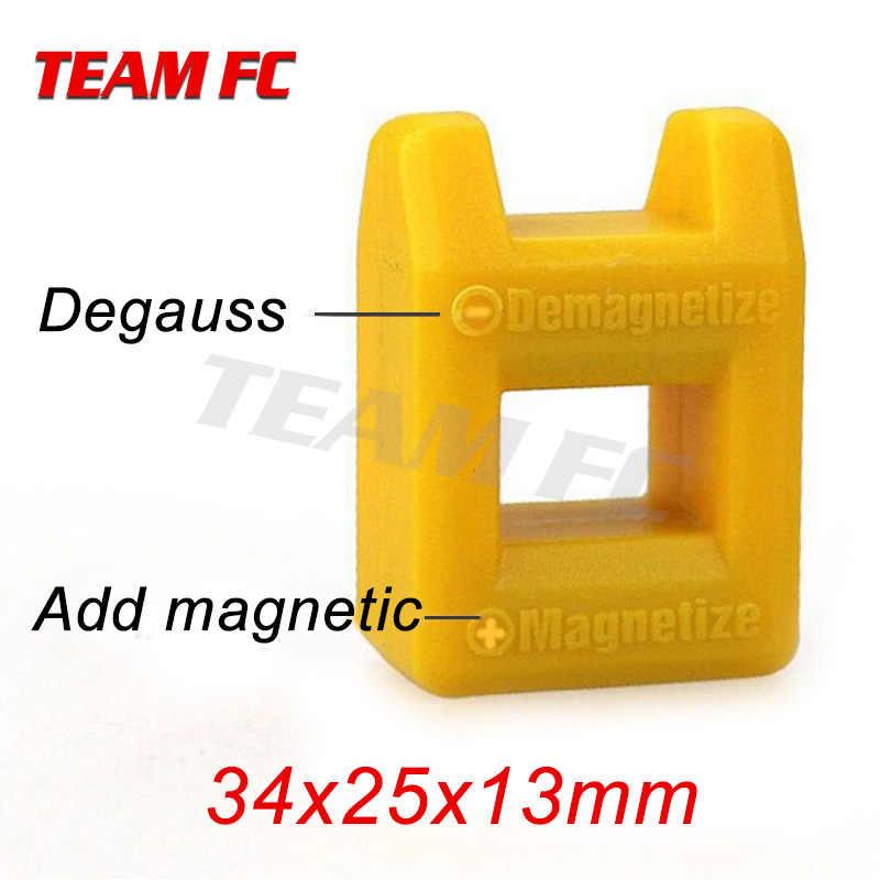 Bricolage rapide magnétiseur tournevis plus dispositif magnétique fort démagnétiseur tête de lot magnétiseur 34x25x13mm S259