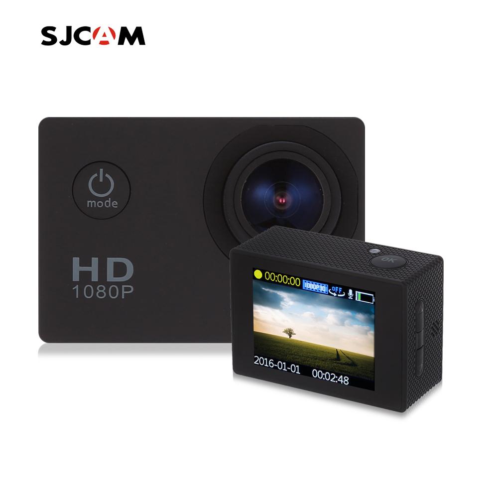 Prix pour D'origine SJCAM SJ4000 D'action Vidéo Caméra 30 M Étanche Plongée SJ CAM 4000 Plongée Sport DV 1080 P Full HD Mini Casque caméscope
