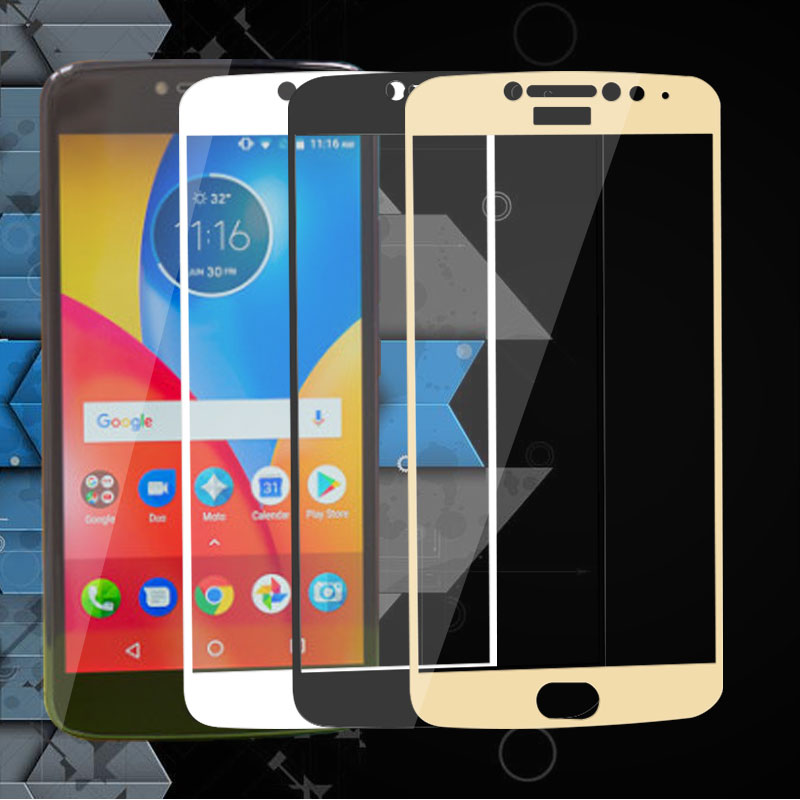 For Moto E4 Plus Full Screen Protector For Moto E4 Plus 5.5 Tempered Glass For Motorola Moto E4 Plus XT1771 Toughened Film image