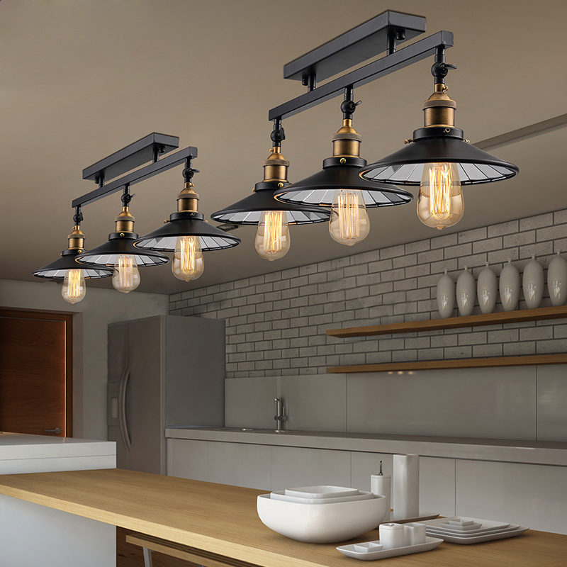Loft Antique Ceiling Lights Vintage Industrial Lamps Home Decoration     Loft Antique Ceiling Lights Vintage Industrial Lamps Home Decoration  Lighting With E27 Edison Bulb for Dinning Room Restaurant in Ceiling Lights  from Lights