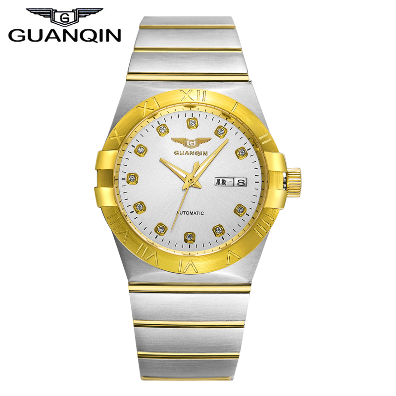 GUANQIN GQ00896 constellation series automatic mechanical Top luxury brands watches Lovers Switzerland import movement