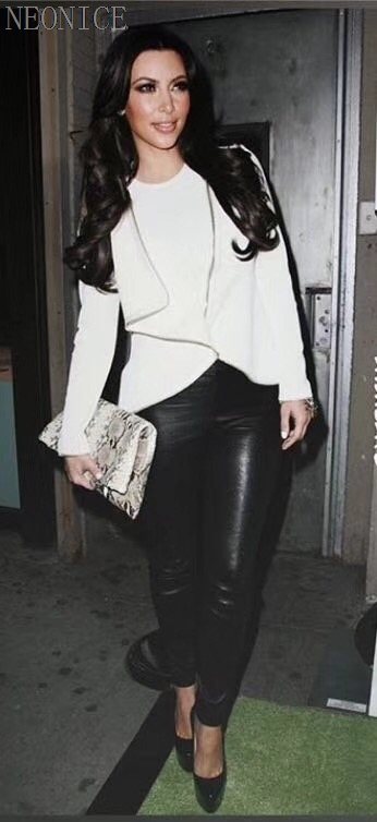 Fête Serré blanc 2018 Loisirs Nouvelle Cuir Noir Bandage De Noir Femme Mode Socialite Discothèque Combinaisons Pu D'anniversaire En Stretch Falbala Sexy gq8qXrxRn