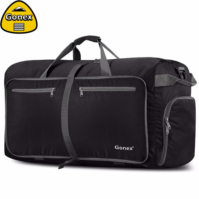 Gonex 150L Business Trip Travel Duffle Bag Packable Luggage Bags Suitcase  Handbag Large for Men Women Gym Weekend Camping fad04a9bf8
