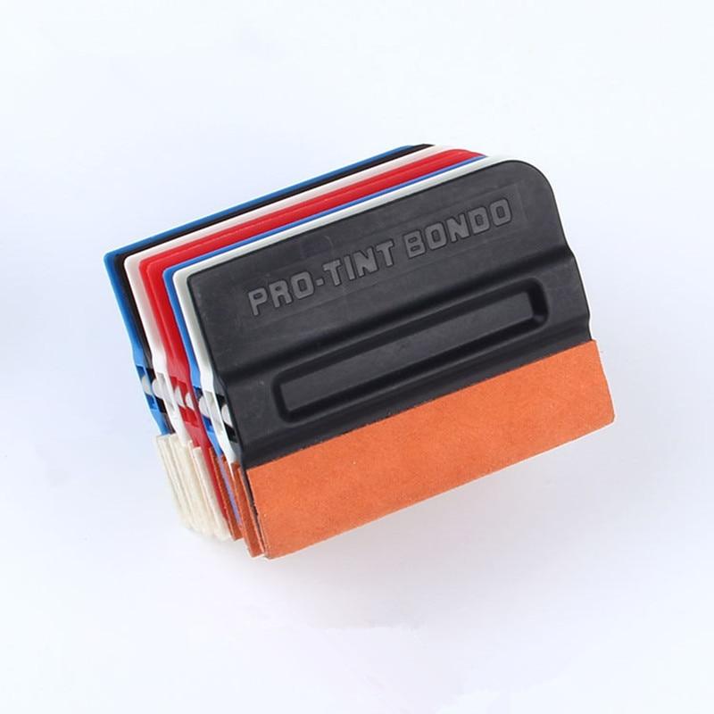 цена Pro Tint Bondo Magnetic black squeegee Wrap Magnet holder Vehicle applicator Car vinyl film sticker wraps installing Tools