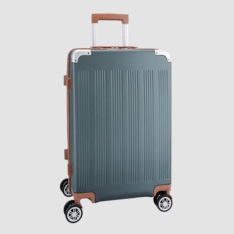 202428inch Aluminum Trolley Luggage bag ,Rolling Wheels Suitcase with Lock, Men's High-capacity ABS+PC hardshell Travel Box oiwas top brand suitcase rolling luggage bag trolley 24 inch maletas spinner wheel customs lock business travel large capacity