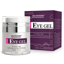 Neutriherbs אפקטיבי עין ג 'ל קרם עבור מעגלים כהים נפיחות קמטים בעור מתחת וסביב עיניים. פרטי Photo