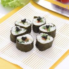 Устройство для изготовления суши комплект рисовый ролл бамбук кухонная форма для самостоятельной готовки пресс-форма коврик для роллов лопатка для риса по доступной цене DC112