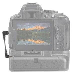 Neewer передающий кабель разъем соединительного кабеля для Батарейная ручка MB-D31 MB-D51, для Nikon D3100 D3200 D5100 D5200 SLR Камера