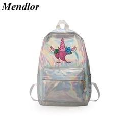 Mochila infantil lasera szkoła torby holograficzny torba plecak szkolny dla dziewczynek plecak szkolny torba dla dzieci plecaki dla dzieci 1