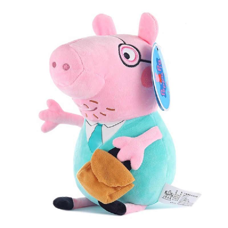30 Cm Pepa Pig Família Peppa Pig George Brinquedos De Pelúcia de Algodão Stuffed Boneca Decorações Do Partido de Aniversário Dos Miúdos Brinquedo