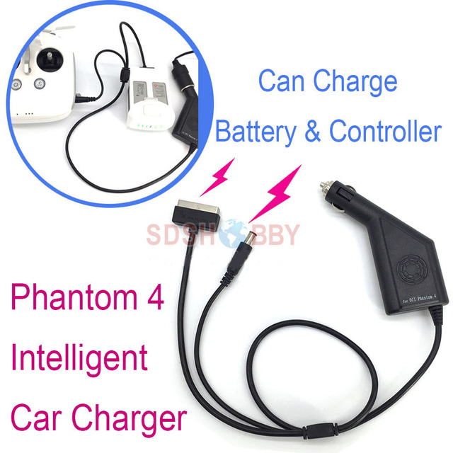 Интеллектуальный автомобиль Зарядное устройство 17,5 В 4A Phantom4 открытый зарядки аксессуары для DJI Phantom 4/PRO + V2.0