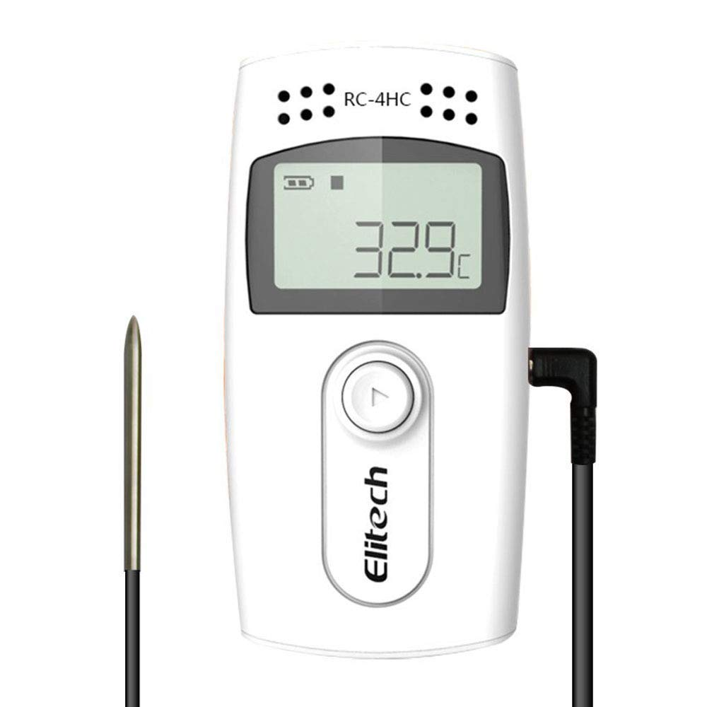 Elitech RC-4HC USB Temp and Humidity Data Logger 16000 Points Record Capacity - 2 Years Quality GuaranteeElitech RC-4HC USB Temp and Humidity Data Logger 16000 Points Record Capacity - 2 Years Quality Guarantee