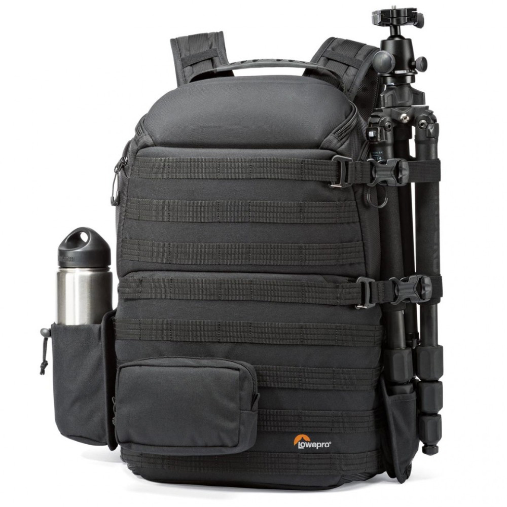 Backpack Shoulder-Camera-Bag Laptop All-Weather-Cover Lowepro Protactic Aw 450 with Genuine title=