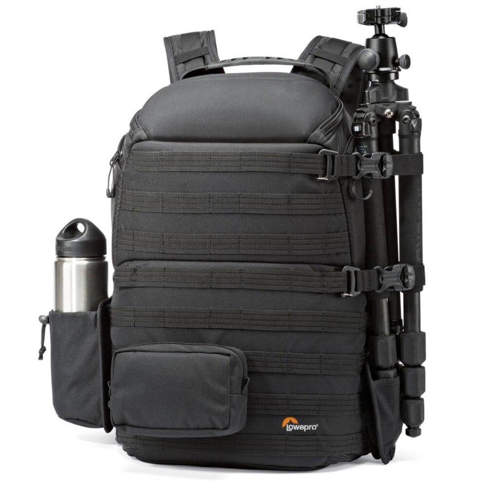 Genuino Lowepro ProTactic 450 aw hombro Cámara bolsa SLR Cámara bolso portátil mochila con todo el tiempo cubierta 15,6 pulgadas ordenador portátil