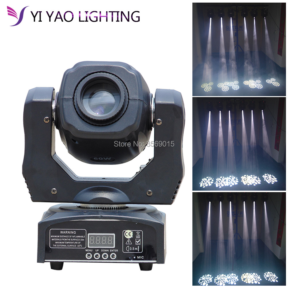 moving 60w LED Moving Head gobo Light led dmx 512 control mini dj diso moving heads 60w moving 60w led moving head gobo light led dmx 512 control mini dj diso moving heads 60w