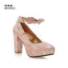Sapatos Da Moda Sexy-Sapatos de salto alto para serviços de Banquete das mulheres Elegantes das Mulheres de Alta-Sapatos de salto alto