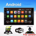 Quad Core 800*480 Android 6 Автомобильный Радиоприемник Tablet PC 2din Универсальный Автомобильный Кран Gps-навигация BT Радио Стерео Аудио плеер