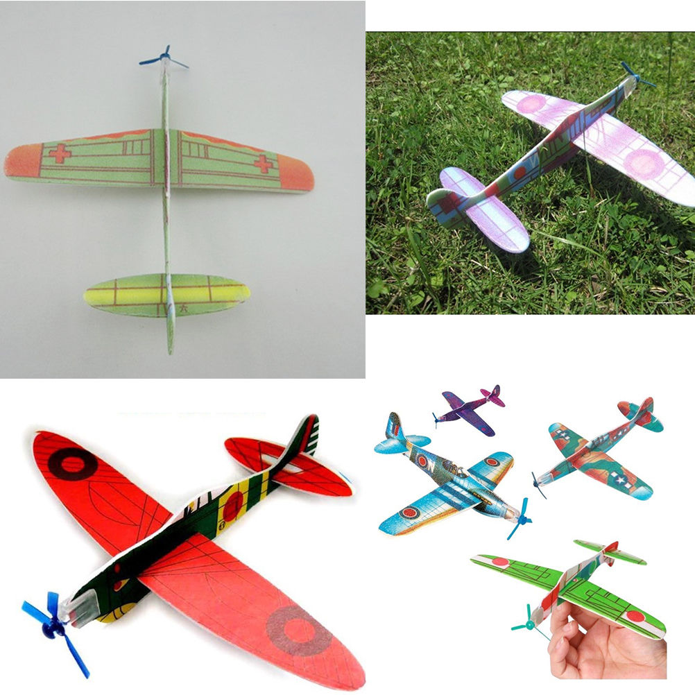 24 Flying Glider Planes Party Bag Fillers Game Prizes Childrens Toys