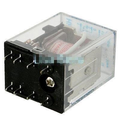 5A 12VDC 24VDC 24VAC AC110V 220V Coil DPDT 8 Pin PCB Welding Electromagnetic Relay HH52PA MY2NJA
