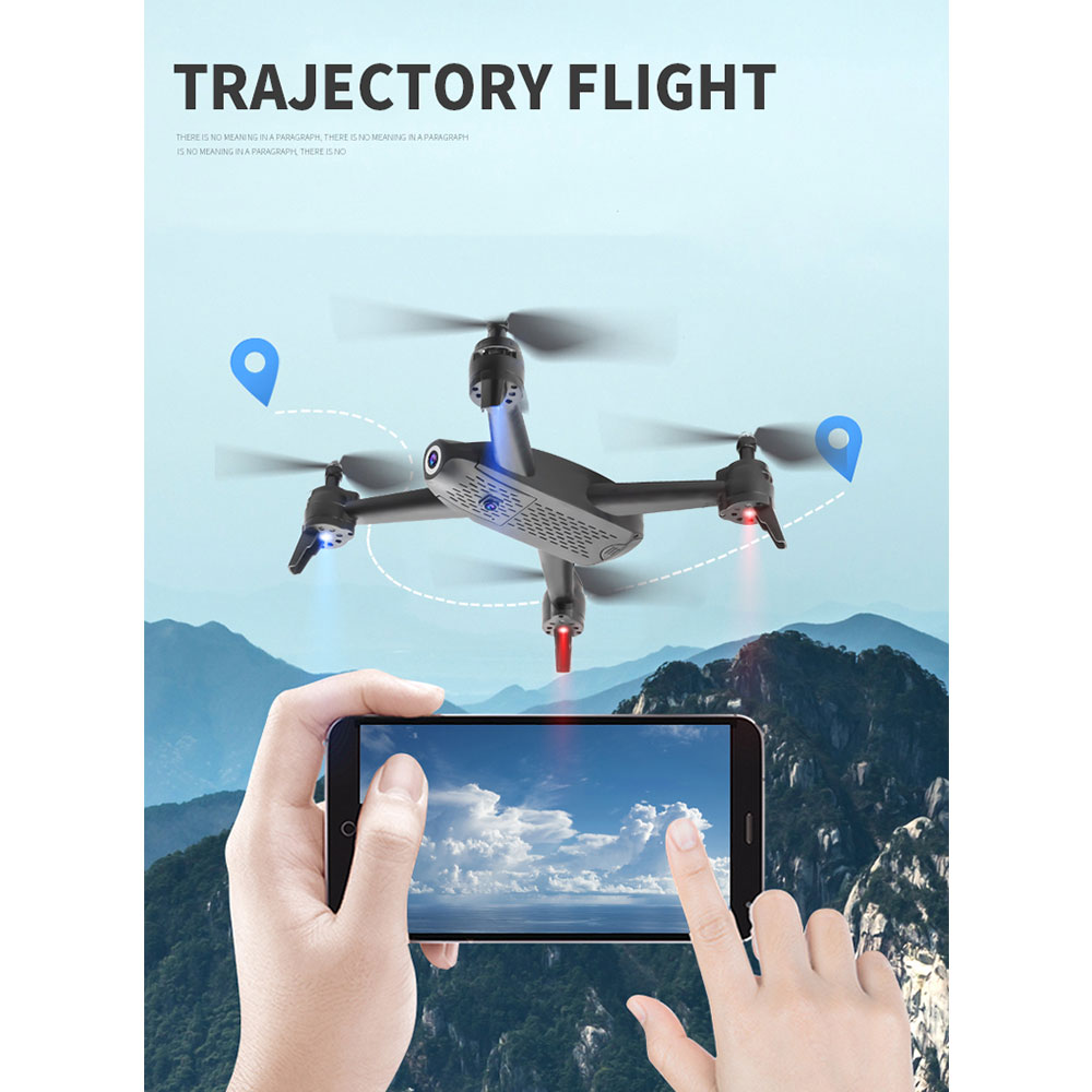 S165 RC Drone 2 4Ghz WIFI FPV 720P/1080P/2K HD Dual Camera