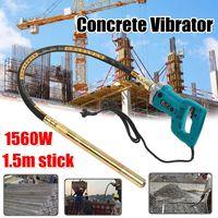 800W 1200W 1560W Concrete Vibrators Electric Cement Soil Mixer With Stick 3 4 HP Heavy Duty