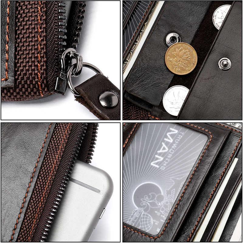 Joyir кошелек мужской Мужская обувь из натуральной кожи сумка-клатч для монет мужской кошелек бумажник для кредитных карт Чехол-бумажник держатель для карт кошельки Длинные 8839