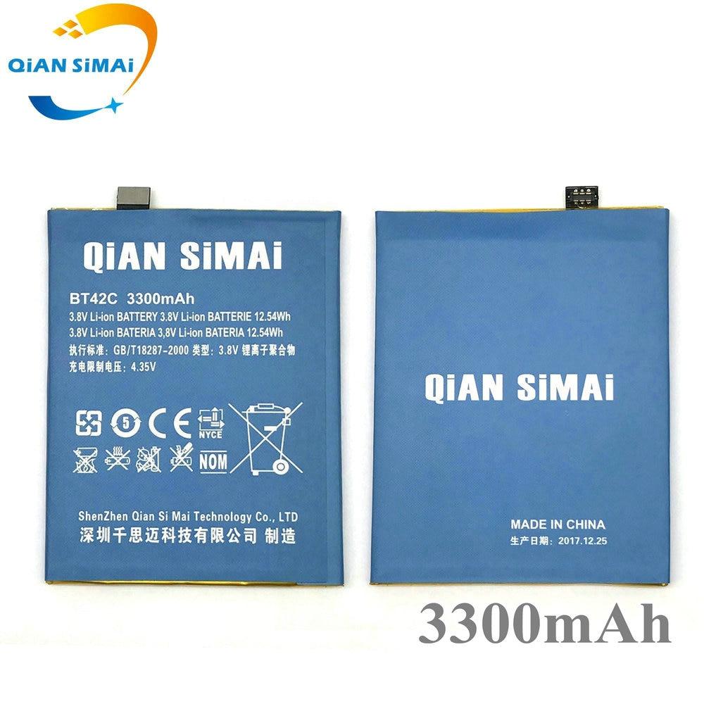 QiAN SiMAi 3300 mAh 2017 Nouveau BT42C BT 42C batterie Remplacement pour Meizu M2 Note Moblie Téléphone livraison gratuite + numéro de piste
