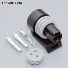 Shhworldsea 100 Наборы Универсальный Packard Metri-Pack P2S Сенсор/положения дроссельной заслонки Сенсор TPS Соединитель 3 way 12110192/12065287