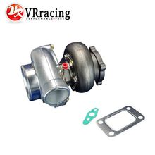 VR RACING GT3582 GT35 GT3582R T3 flange oil and water 4 bolt turbocharger turbo compressor A
