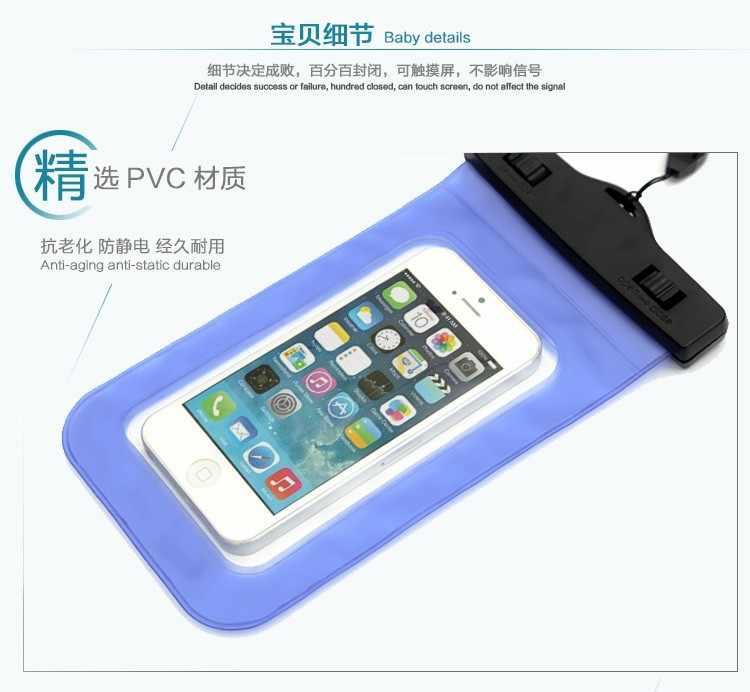 Su geçirmez Toz Şok Geçirmez Çanta Için Huawei Y625 Y550 Y550 Y511 Y516 Y300 3X 3C Oyun C199/G7 Sualtı paketi Kapak Kılıf Kılıfı