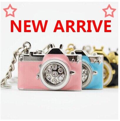 Pen Drive Diamond Camera 128gb 16gb 32gb 64gb Camera Jewelry Usb Flash Drive 1TB 2TB Memory Stick Pendrive Gift Usb Key Gift 2.0
