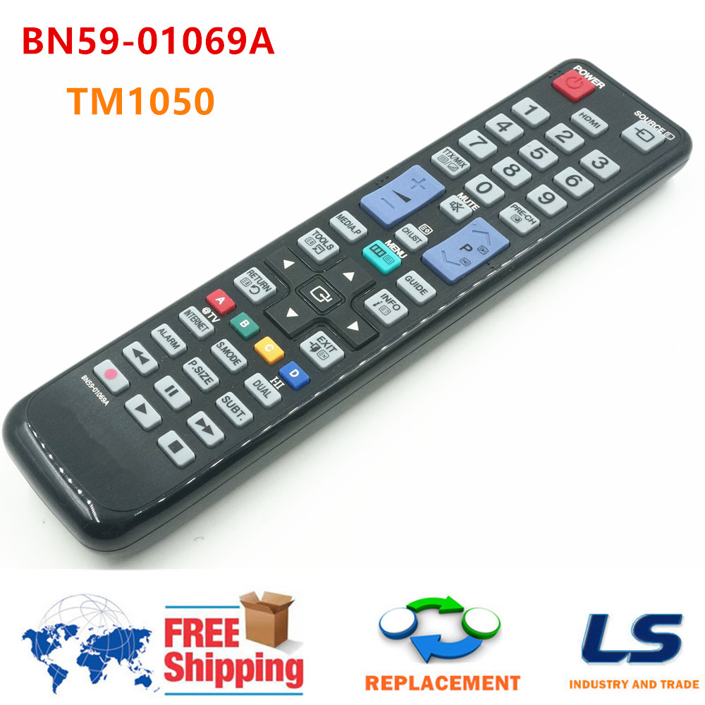 Afstandsbediening Remote Control TM1050 BN59-01069A FOR SAMSUNG LCD LED TV LE32C530F LE40C530F LE40C550JIWXXN LE40C550 UE40C6000