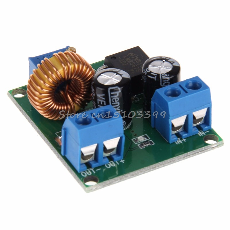 DC-DC Pulse Step Up Power Module Adjustable Voltage 3 5 12 V to 19 24 30 36 V Drop Ship
