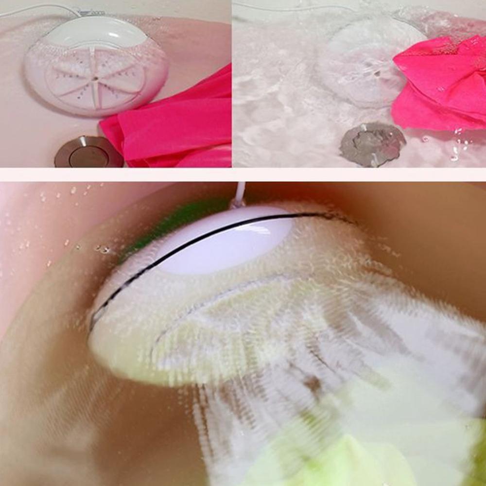 FleißIg Waschen Maschinen Automatische Tragbare Ultraschall Mini Waschmaschine Für Seide Baby Kleidung Sonder Materialien Waschen Werkzeug Ideales Geschenk FüR Alle Gelegenheiten