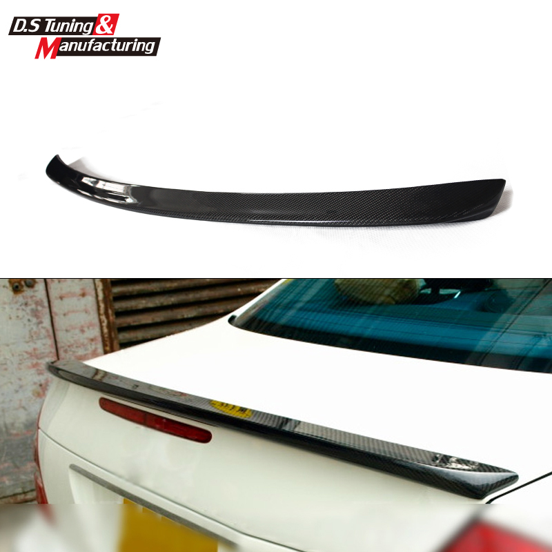 Mercedes E class w211 carbon rear spoiler trunk wings for benz 2003-2009 E200CDI  E220 E270 E280 E300(AMG style) yandex mercedes x156 bumper canards carbon fiber splitter lip for benz gla class x156 with amg package 2015 present