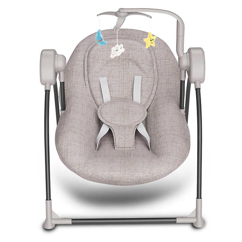 Детские электрическое кресло-качалка колыбели ребенка комфорт кресло качалка детские принадлежности кровать России Бесплатная доставка
