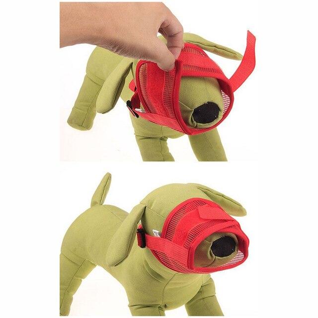 Hoomall Pet Dog Regolabile Mask Mesh Traspirante Museruole Piccola Grande Bocca Del Cane Museruola Anti Bark Bite di Masticazione Del Cane di Formazione Del Prodotto