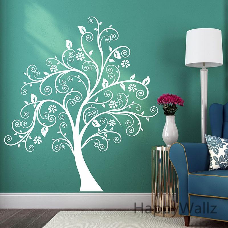 aliexpress mandala wall sticker modern flower decal - Wall Decors