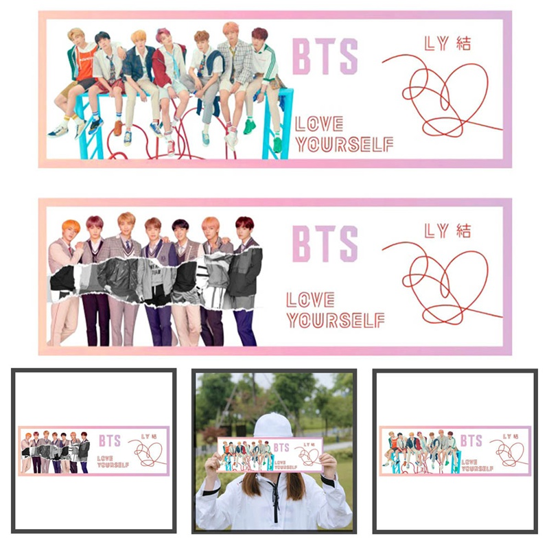Jewelry Findings & Components Kpop Bts Love Yourself Tear Concert Airport Fabric Banner Bangtan Boys Hang Up Poster Fans Gift Jewelry & Accessories