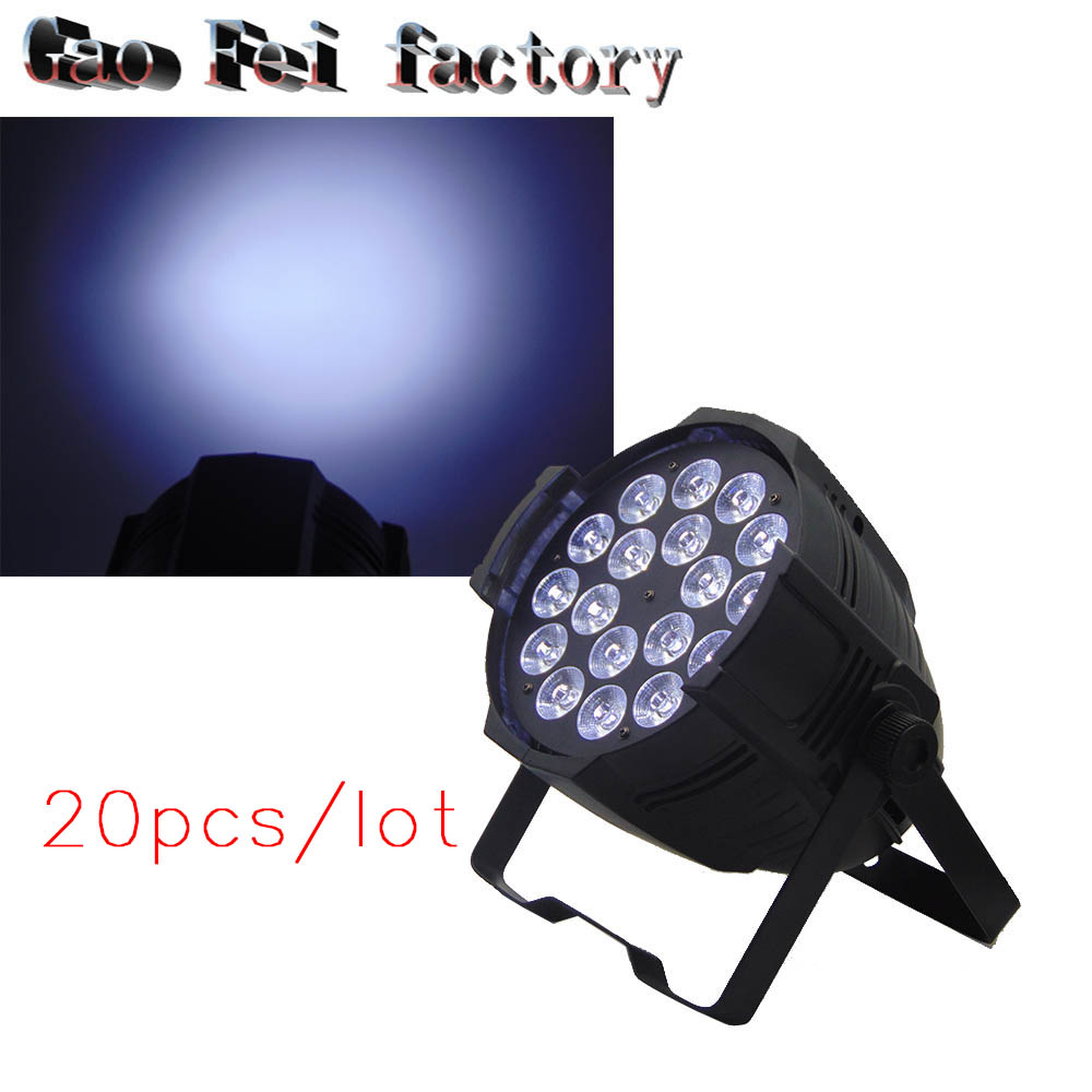 Aluminum shell 20pcs/lot 18x12W Led Par Light DMX Stage Lights Professional 20pcs lot mdd2601 to252