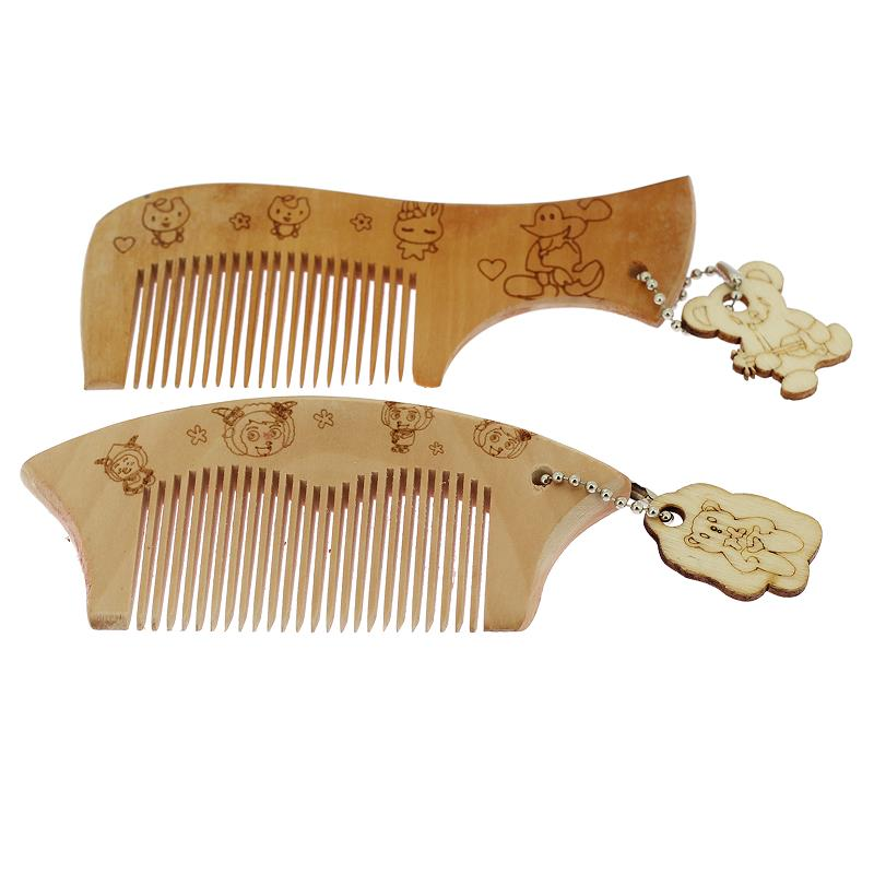 1Pcs Hair Brush Newborns Children Babies Natural Anti-Static Wooden Comb For Hair Stuff For Babies Hairdressers Tools