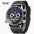 Mens relógios mecânicos assistir seis-pin relógio turbilhão jaragar negócios relojes hombre 2016 top marca de luxo Relógios Automáticos