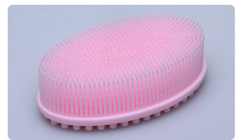 1pc Hair Wash Brush Silicone Head Body wipe Shampoo Scalp Massage Baby bath wipe Comb Shower Bath Brush Props Hair Washing head massage hair brush cute magical rabbit scalp massager electric shampoo comb vibration stress relief bath hair wash care