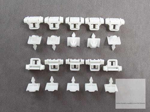 100 x fijación clips snap ojal Mercedes clips tira decorativa A0019887681
